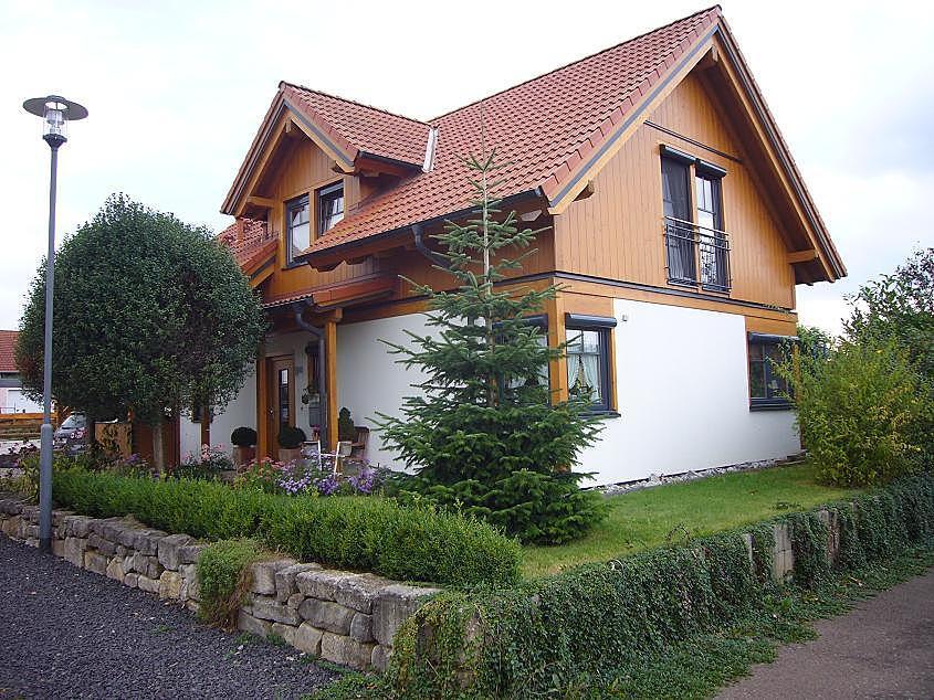 Hochmoderne Holzarchitektur