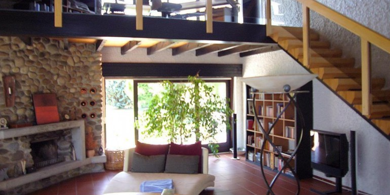 05 Wohnhalle - Blick zur Terrasse