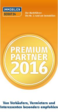 Immobilien Scout 24 Premium Partner 2016