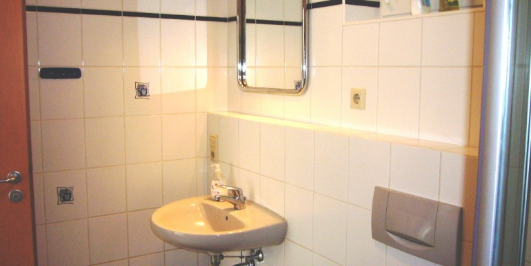 Neutrales Badezimmer