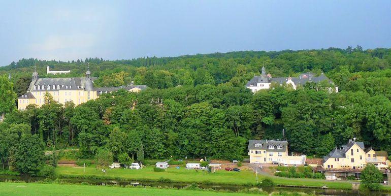 Ausblick Schloss Oranienstein und Lahn