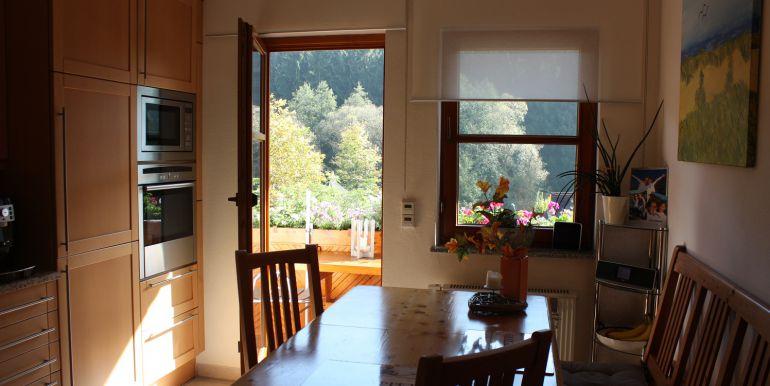 Küche Balkonzugang