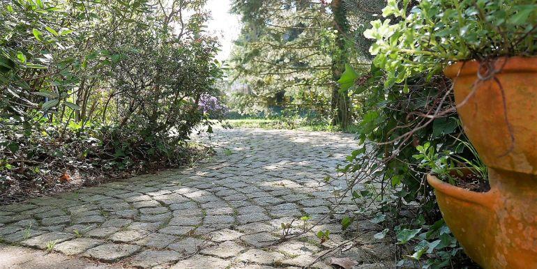 Zugang in den Garten