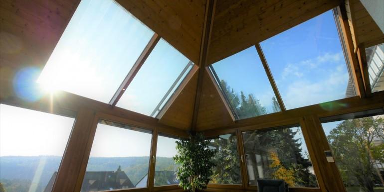 Dachöffnung Wintergarten