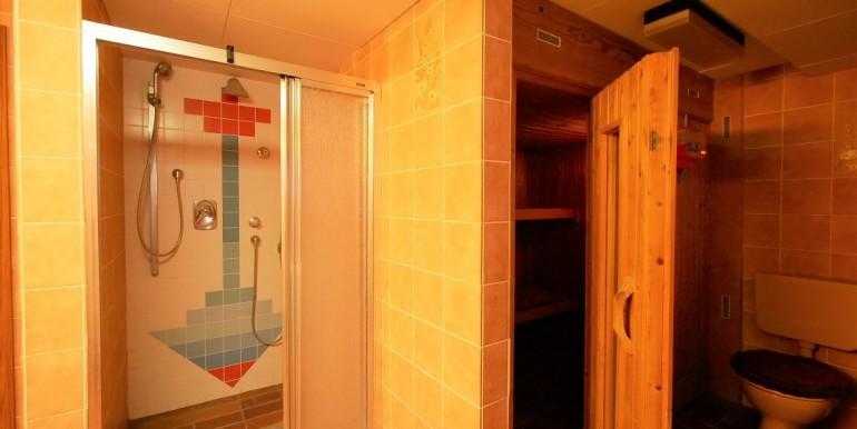 Sauna-WC-Dusche im UG